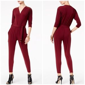 Michael Michael Kors Embellished Jumpsuit PS nwt!